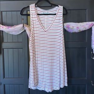 Striped Maurices Tank Top
